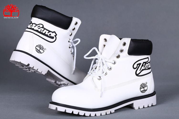 timberland chaussures hommes blanche